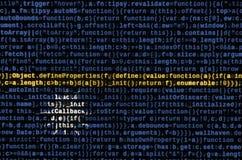 Le drapeau du Nauru est dépeint sur l'écran avec le code de programme Le concept de la technologie et du développement de site mo illustration stock