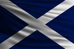Le drapeau national illustration libre de droits