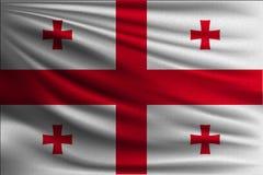 Le drapeau national illustration stock