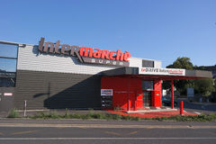 Le Drive Intermarché royalty free stock images