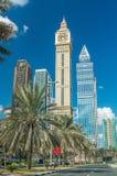 LE DUBAÏ - DÉCEMBRE 2016 : Gratte-ciel grands du centre de Dubaï Ville de Th Photos stock