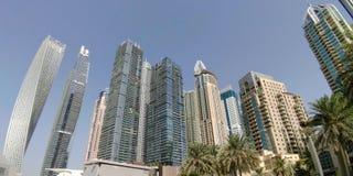 Le Dubaï du centre image libre de droits