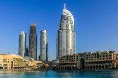 Le DUBAÏ, EAU - 25 janvier 2019 : L'hôtel d'adresse, un hôtel de cinq étoiles dans le secteur d'Emaar Dubaï du centre, Emirats Ar photos libres de droits