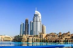 Le DUBAÏ, EAU - 25 janvier 2019 : L'hôtel d'adresse, un hôtel de cinq étoiles dans le secteur d'Emaar Dubaï du centre, Emirats Ar photographie stock