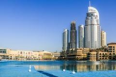 Le DUBAÏ, EAU - 25 janvier 2019 : L'hôtel d'adresse, un hôtel de cinq étoiles dans le secteur d'Emaar Dubaï du centre, Emirats Ar photographie stock libre de droits