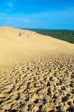 Le dune di Pilat in Francia, il più alto in Europa immagini stock