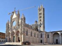 Le Duomo de Sienne Photographie stock