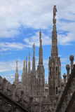 Le Duomo, la cathédrale de Milan Photographie stock