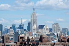 Le Empire State Building Immagini Stock Libere da Diritti