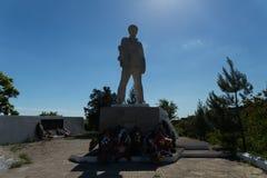 Le 1er mai 1943, les marins de reconnaissance sous les ordres de capitaine Kalinin DS Images libres de droits