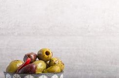 Le esperte olive si chiudono su Immagine Stock Libera da Diritti