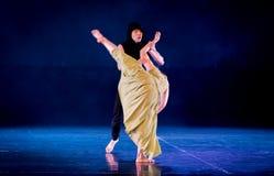 Le féminisme 6-Act 2 : Pays des merveilles relation-moderne de danse de triangle photographie stock libre de droits
