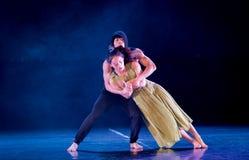 Le féminisme 9-Act 2 : Pays des merveilles relation-moderne de danse de triangle photos stock