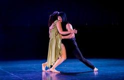 Le féminisme 11-Act 2 : Pays des merveilles relation-moderne de danse de triangle photographie stock