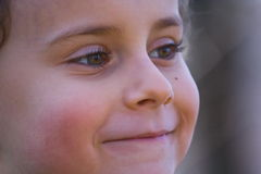 le för barn Royaltyfria Bilder