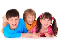 le för barn arkivfoton