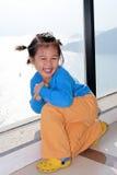 le för barnkines Royaltyfri Fotografi