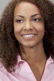 le för blandad race för flicka för afrikansk amerikan härligt Arkivbild
