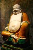 le för budaibuddha fett monk Fotografering för Bildbyråer