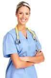 le för doktorsläkarundersökning Arkivbild