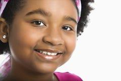 le för flickapreteen Arkivbild