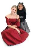 le för flickor Royaltyfri Fotografi