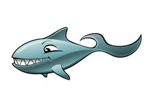 le för haj vektor illustrationer