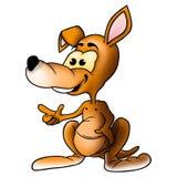 le för känguru Royaltyfria Bilder