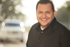 Le för Latinoman fotografering för bildbyråer