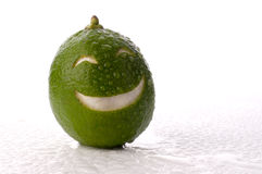 le för limefrukt Royaltyfria Bilder