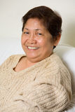 le för mormor Royaltyfri Bild