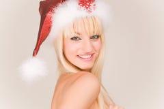 le för mrs santa Fotografering för Bildbyråer