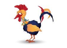 le för rooster Royaltyfri Foto
