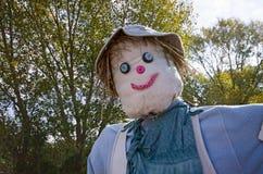 le för scarecrow Arkivbilder