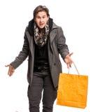 le för shopping för påseman Royaltyfri Fotografi