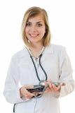 le för sjuksköterska Royaltyfria Bilder