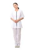 le för sjuksköterska för doktor medicinskt royaltyfri fotografi