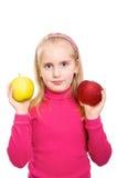 le för skjorta för flicka rosa Royaltyfri Fotografi