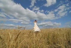 le för brudfält Arkivfoton