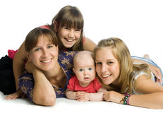 Le famille Photos libres de droits
