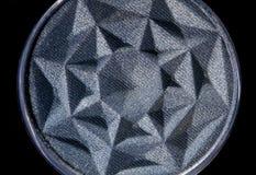 Le fard à paupières de gris bleu composent Photographie stock