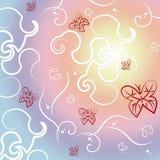 Le farfalle espongono al sole indica Sunny Rural And Summer Immagine Stock Libera da Diritti