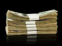 Le fatture di soldi del dollaro Fotografia Stock