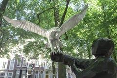 Le fauconnier Images libres de droits