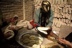 Le femme d'Uighur dans Kashgar Photographie stock libre de droits