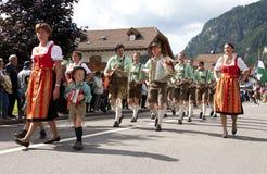 Le fest folklorique de Ladina, Italie du nord Images stock