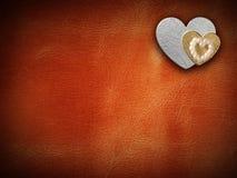 Le feste cardano con cuore come simbolo di amore Immagine Stock