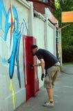Le festival annuel du graffiti à St Petersburg Photos stock