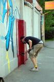 Le festival annuel du graffiti à St Petersburg Photo stock