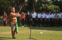 Le festival célèbre le tourisme de jour du monde en Indonésie Photos libres de droits